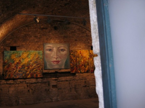 An art gallery, the Old Fortress.