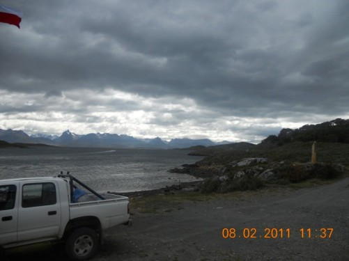 View of the Beagle Channel.