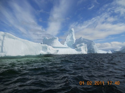 Another view of the iceberg.
