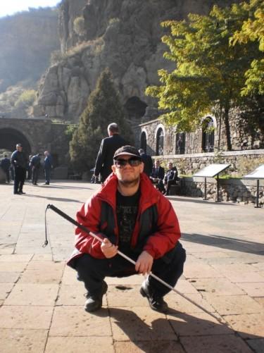 Countyard at Gighart Monastery.