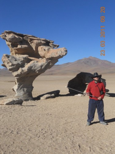'Arbol de Piedra' or 'Stone Tree'.