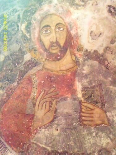 Fresco at Sumela Monastery.