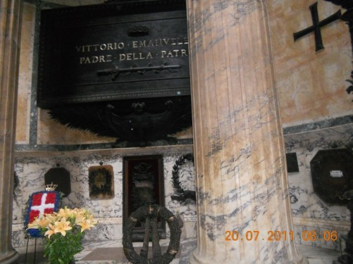 Tomb of King Victor Emmanuel I.