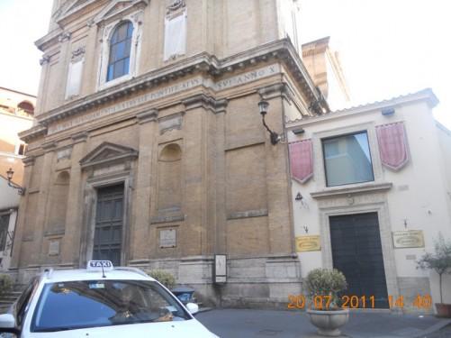 All Saints Church, on Via del Babuino.