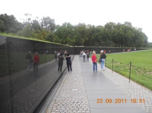 The Vietnam Veterans Wall.