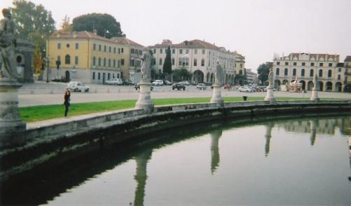 Canal on the edge of Prato della Valle.