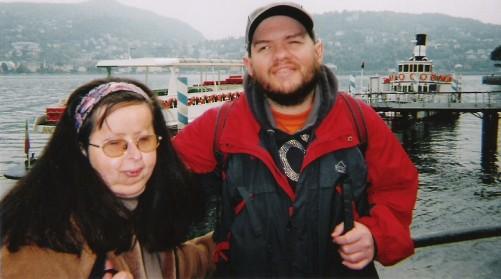 Tony and Tatiana by Lake Como