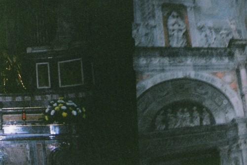 Inside the Basilica of Santa Giustina.