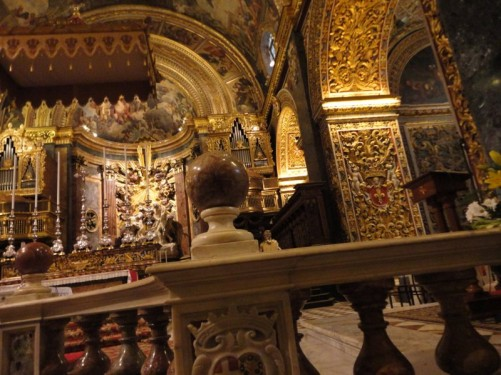 The main altar from a different angle.