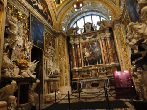Chapel of the Langue of Aragon, looking towards the altar.