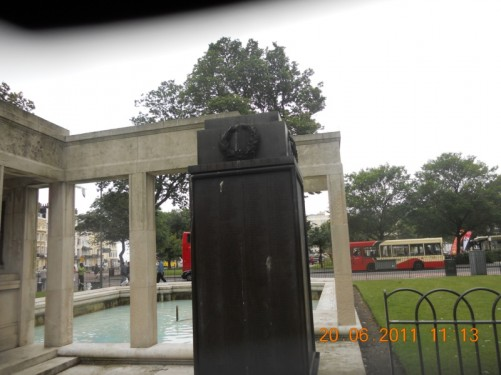 Brighton War Memorial, Old Steine Gardens.