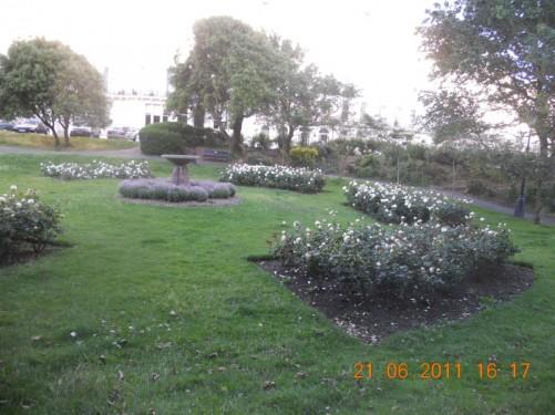 Gardens at Palmeira Square, Hove.