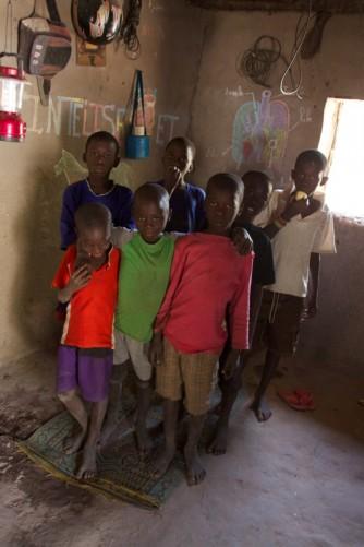 The same kids. Khady's Father's house, Madina Dafe village.