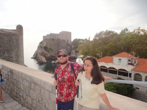 Bokar Fort seen from the city walls.