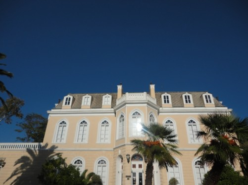 Outside King Nikola's Palace.