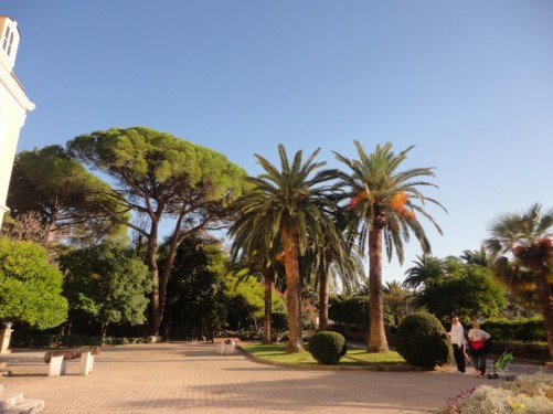 The gardens of King Nikola's Palace.