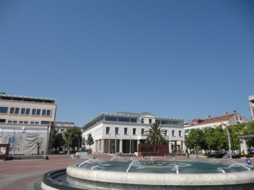 Another view across the square.