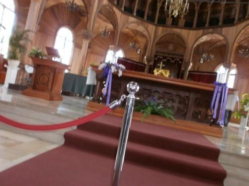 The main altar.