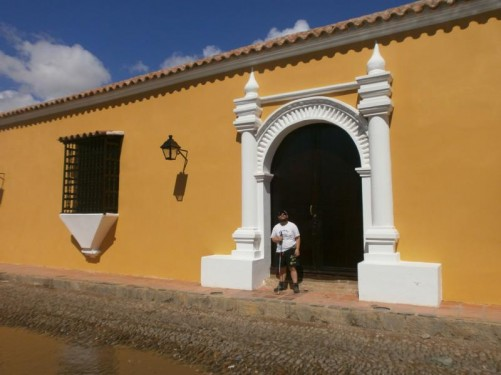 Casa del Tesoro - another colonial-era mansion built in 1770 by the Talavera family.