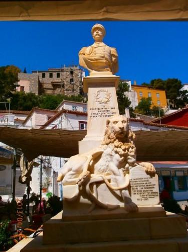 Pavlos Kountouriotis Monument.