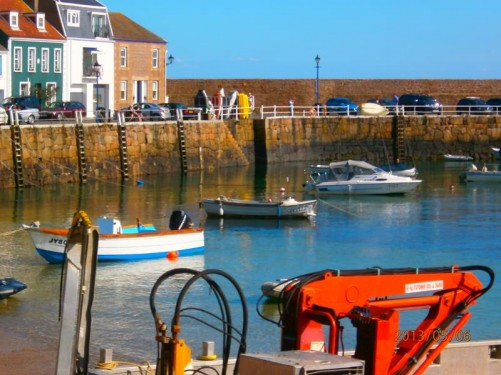 Another view of Gorey Harbour.