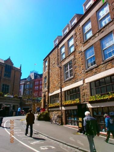 High Street: the main shopping street.