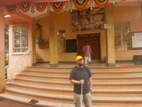 Swaminarayan Temple, taken on 12th November in Jinja.
