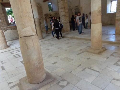 Inside St John the Baptist Church. This Greek Orthodox church is no longer in use.