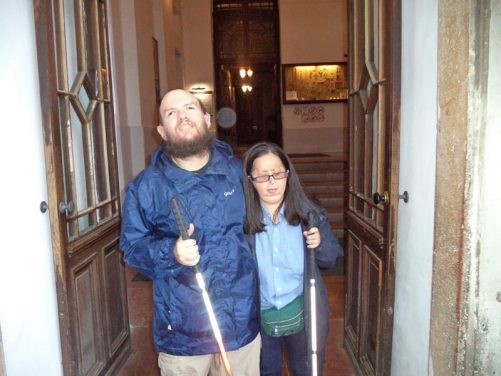 Tony, Tatiana outside the entrance to Esztergom Basilica, which is Hungary's largest church. It's located on Castle Hill.