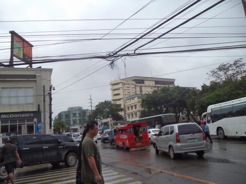 Bustling crossroads, probably on Colon Street.